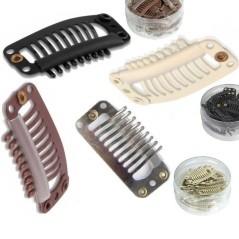 Ανοξείδωτα µεταλλικά clip σιλικόνης ( 1 τεμ. )