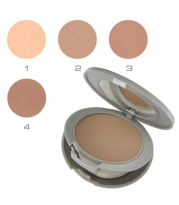 SILKEN MAT CAKE Treating creamypowder foundation