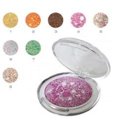 SPOTLIGHT Spotted eye shadow