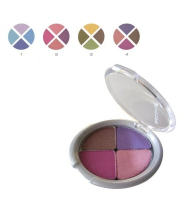 DUO+DUO Eye shadow with transparent packaging