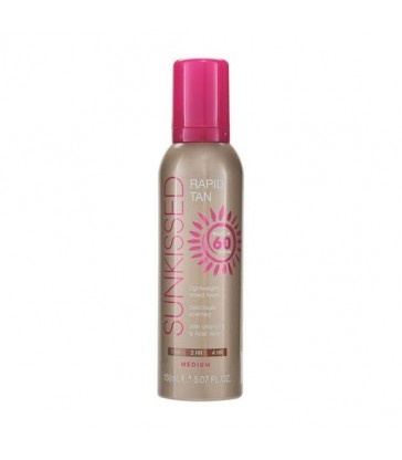 Sunkissed Rapid Tan Mousse Medium 150ml