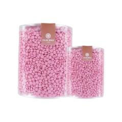 Ζεστό κερί αποτρίχωσης σε κόκκους tio2 ροζ (Τιτάνιο) Χωρίς Ταινία για ευαίσθητο δέρμα 1000ml.