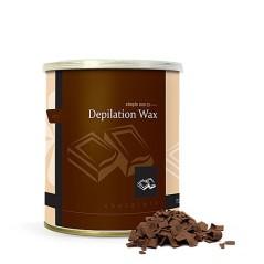 Κερί Αποτρίχωσης Σοκολάτα με TiO2 Τιτάνιο Δοχείο 800ml