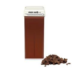 Κερί Αποτρίχωσης Σοκολάτα με TiO2 Τιτάνιο Ρολέτα Roll-on 100ml