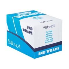 Χαρτάκια περμανάντ SIBEL στην μπλε συσκευασία.