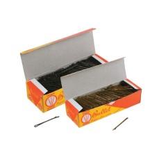 Τσιμπιδάκια μαλλιών bullet 500gr μαύρα και ξανθά.