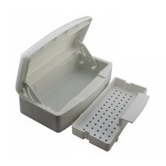 Πλαστικό δοχείο για την αποστείρωση εργαλείων.