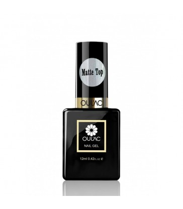 Top Coat Matte Oulac 10ml.