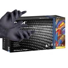 Γάντια Νιτριλίου Bold μαύρα χωρίς πούδρα.