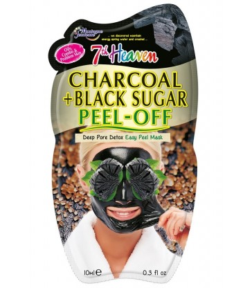 Montagne Jeunesse Charcoal + Black Sugar Peel-Off Mask 10ml.