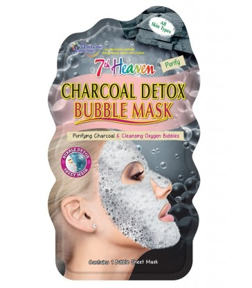 Montagne Jeunesse Charcoal Detox Bubble Mask.