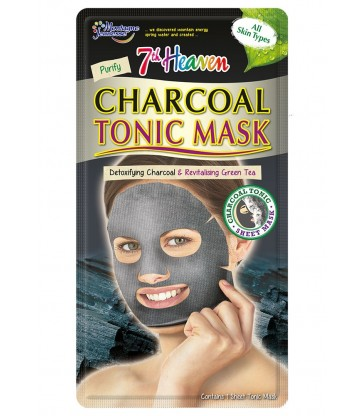 Montagne Jeunesse Charcoal Tonic Sheet Mask.