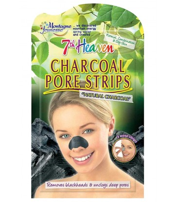 Montagne Jeunesse Charcoal Nose Pore Strips 3τμχ.