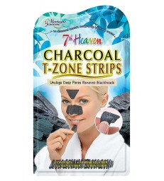 Montagne Jeunesse Charcoal T-Zone Strips 3τμχ.