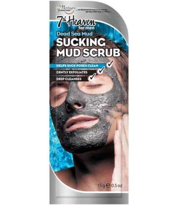 Montagne Jeunesse Men Dead Sea Mud Sucking Mud Scrub for Men 15gr.