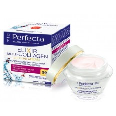 Perfecta Elixir Multi-Collagen 50+ Lifting Cream SPF 10 50ml.