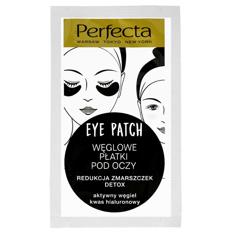 Perfecta eye patches Hydrogen charcoal.