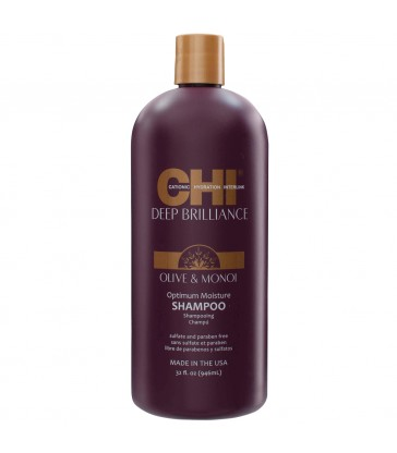 CHI Deep Brilliance Optimum Moisture Shampoo 946 ml.