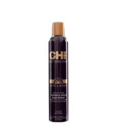 CHI Deep Brilliance Olive & Monoi Optimum Finish Flexible Hold Hair Spray 284ml.