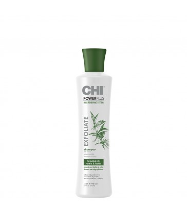 CHI Power Plus Exfoliate Hair Renewing System Shampoo 355ml.