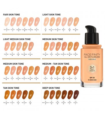 Max Factor Facefinity All Day Flawless 3 In 1 Foundation SPF20.