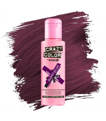 Crazy color Aubergine 100ml