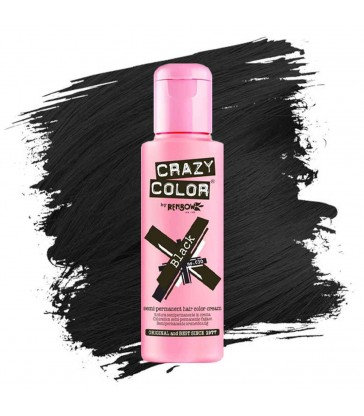 Crazy color Black 100ml