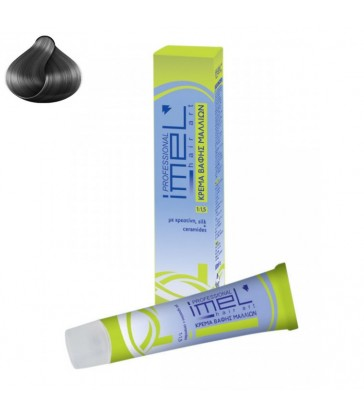 N° 0.11 Σταχτί Βαφή IMEL Professional 60ml