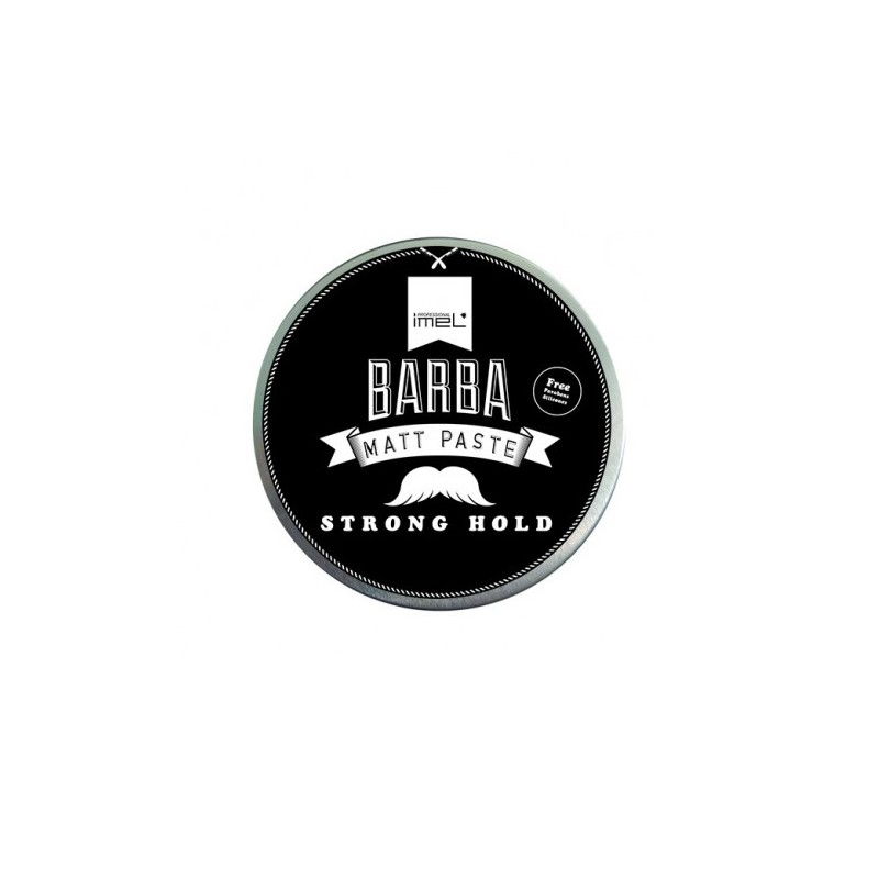 Barba Men's Matt Paste Strong Hold 125ml