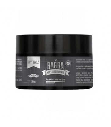Barba Men's Hair & Beard Wax 125ml