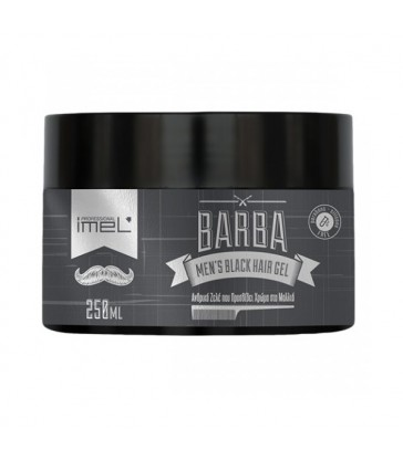 Barba Men's Black Hair Gel 250ml
