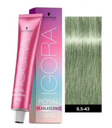 Igora Royal Pearlescence 60ml N°9,5-43 Παστέλ Μέντα