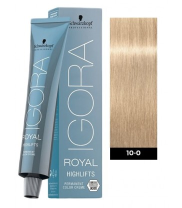 Igora Royal Highlifts 60ml N°10-0 Κατάξανθο