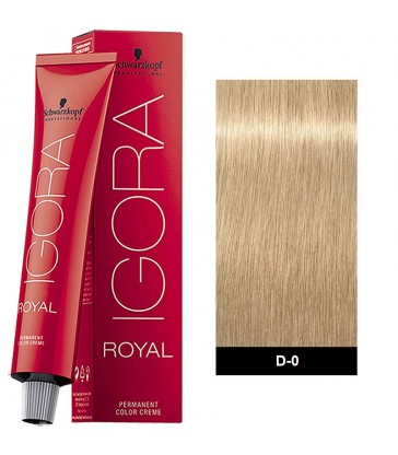 Igora Royal Extracts 60ml N°D-0 Ξανθό Ιβουάρ Φυσικό