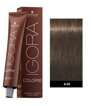 Igora Color10 Extra Coverage 60ml N°6-00 Ξανθό Σκούρο Έντονο Φυσικό