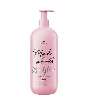 Schwarzkopf Mad About Lengths Root to Tip Cleanser 1000ml