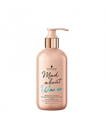 Schwarzkopf Mad About Waves Sulfate Free Cleanser 300ml