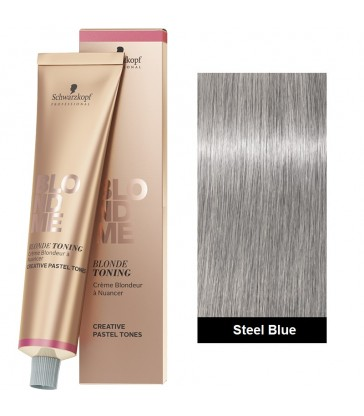 Schwarzkopf Blondme Bond Enforcing Toning 60ml N°Steel Blue