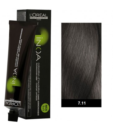 L'oreal Professionnel Inoa High Resist 60ml N°7.11 Ξανθό Σαντρέ Βαθύ