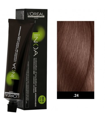 L'oreal Professionnel Inoa 60ml N°.24 Garnet Bronze Medium Bases