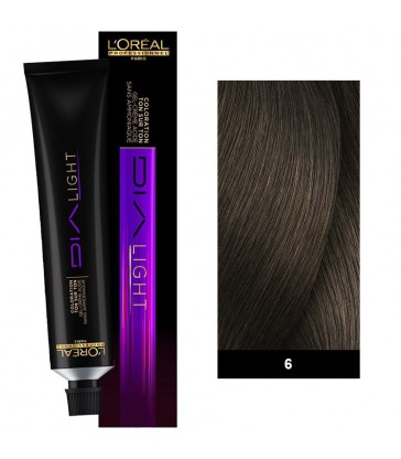 L'oreal Professionnel Dia Light 50ml N°6 Ξανθό Σκούρο