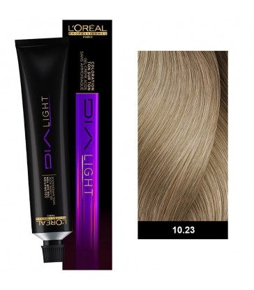 L'oreal Professionnel Dia Light 50ml N°10.23 Milkshake Περλέ Χρυσό