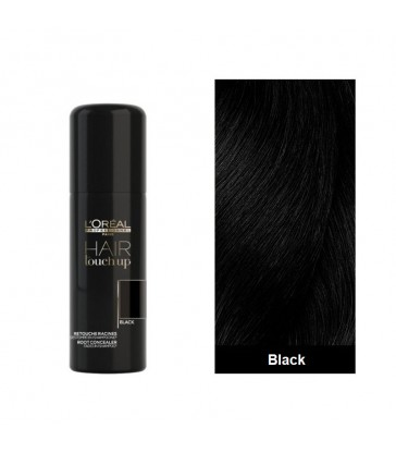 L'oreal Professionnel Hair Touch Up Spray Μαύρο 75ml