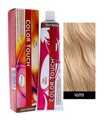 Wella Professionals Color Touch Deep Browns 60ml N°10/73 Κατάξανθο Καφέ Χρυσό