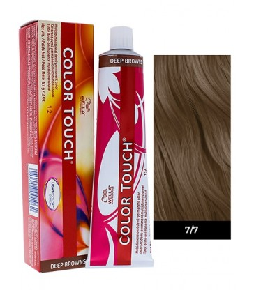Wella Professionals Color Touch Deep Browns 60ml N°7/7 Ξανθό Kαφέ