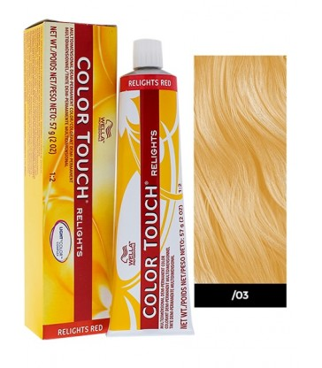 Wella Professionals Color Touch Relights 60ml N°/03 Φυσικό Χρυσό