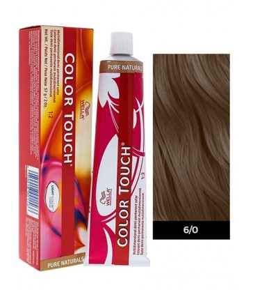 Wella Professionals Color Touch Pure Naturals 60ml N°6/0 Ξανθό Σκούρο