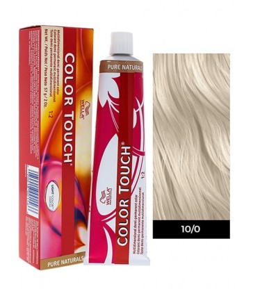 Wella Professionals Color Touch Pure Naturals 60ml N°10/0 Κατάξανθο