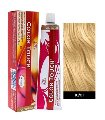 Wella Professionals Color Touch Pure Naturals 60ml N°10/01 Κατάξανθο φυσικό σαντρέ