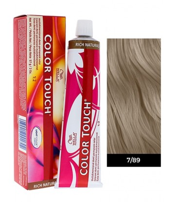 Wella Professionals Color Touch Rich Naturals 60ml N°7/89 Ξανθό Περλέ